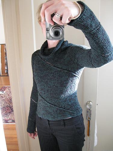 Traveling Eyelet Sweater