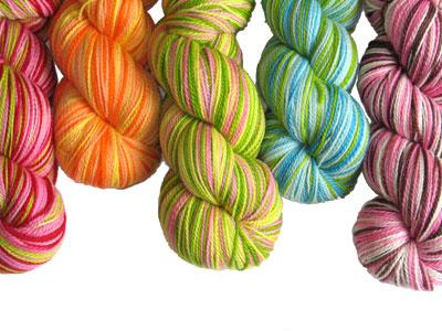 stripedyarn Knitting Thread